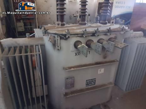 Transformador eléctrico 500 kva WEG