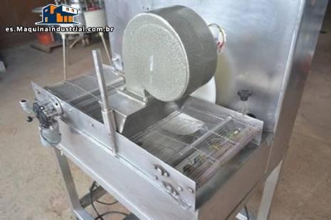 máquina de recubrimiento de chocolate 250 mm Piróg