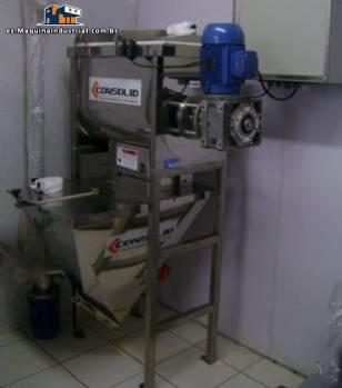 Mezclador industrial para polvo de 200 kg por hora-Consolid fabricante