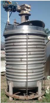 Tanque mezclador industrial inoxidable