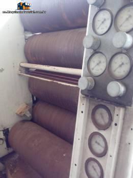 Refinador con 5 rollos marca Maschinenfabrik Heidenau