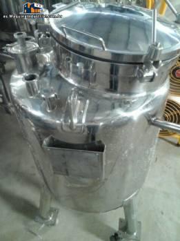 Tanque de transferencia acero inoxidable 316 para 140 litros Inoxil