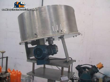 Alimentador de tapas y rotación del posicionador - N