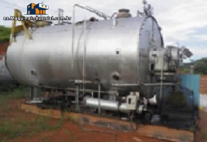 Caldera industrial para generación de vapor CBC