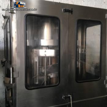 línea completa para el envasado de polvos y granulados en vidrio