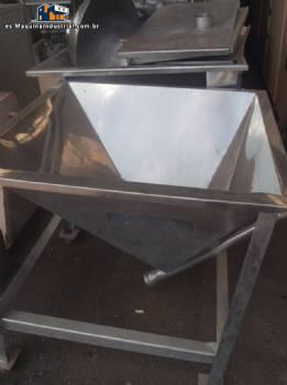 Marca de fábrica de silos de acero inoxidable Alimflex