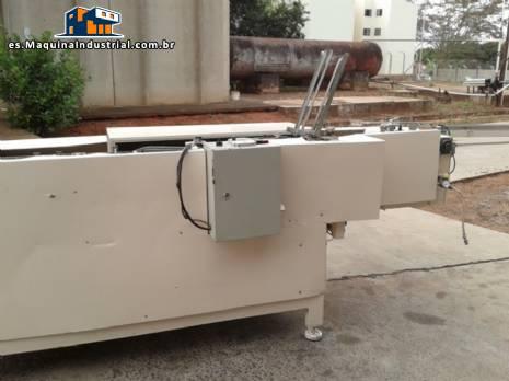 Encartuchadeira CRF y dos tanques en acero inoxidable