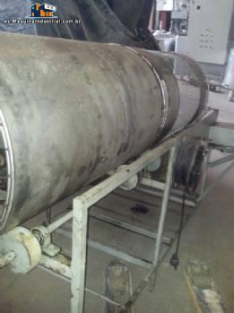 Túnel de tubular para añadir azúcar